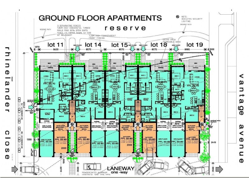 Apartments 1 10 (LOT 2702A) Selandra Boulevard, Clyde North VIC 3978 Floorplan