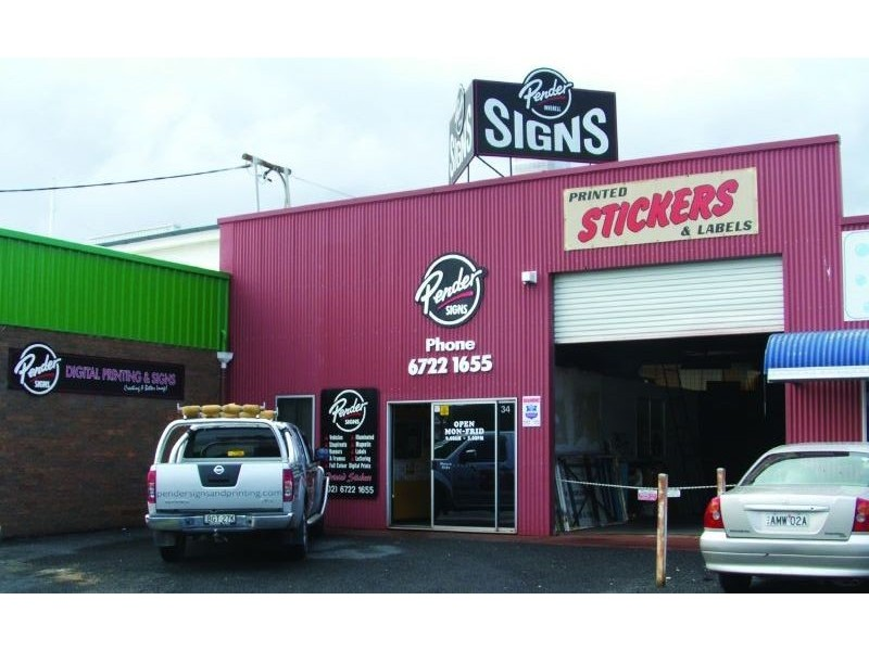 ** Pender Signs & Printing, Inverell NSW 2360