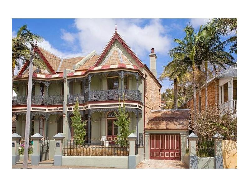 victorian style facade