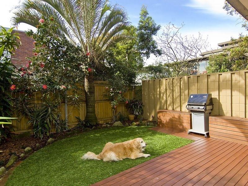 modern garden style landscape