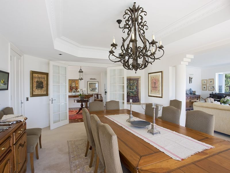 classic style dining room