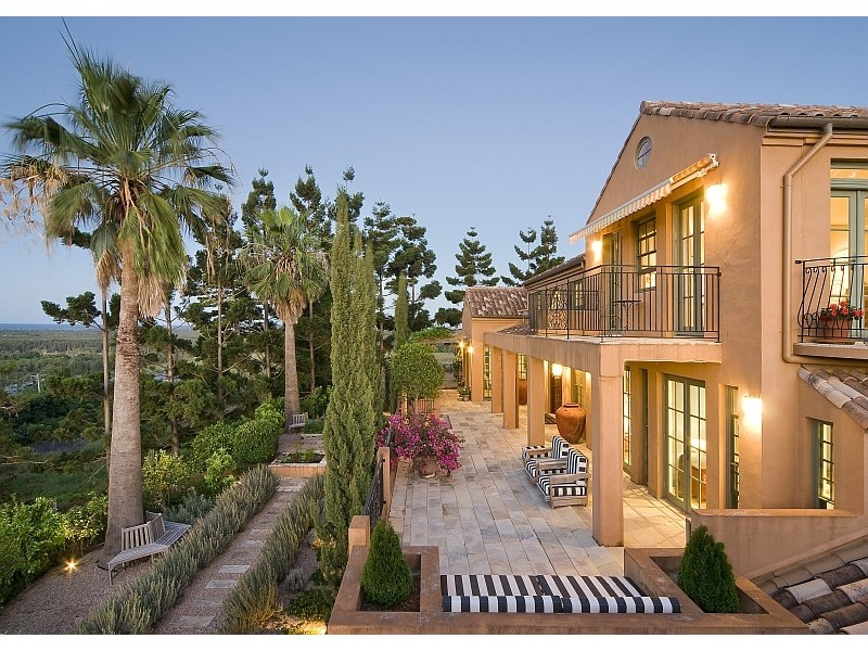 tuscan inspired style facade