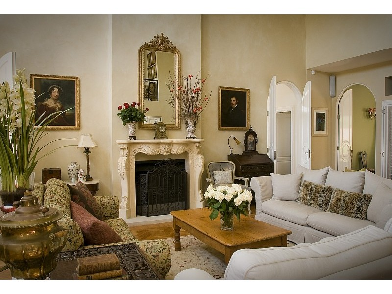 French Provincial Style Living Room