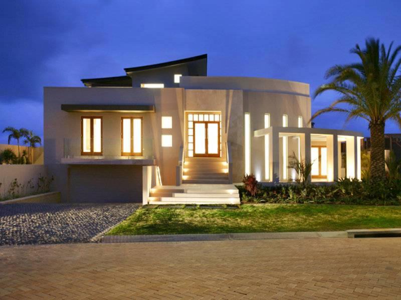 contemporary style facade