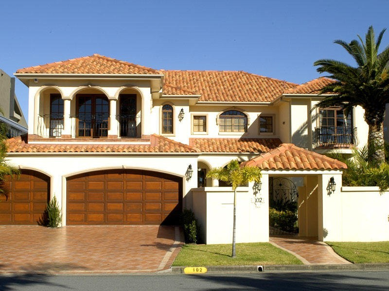 spanish inspired style facade