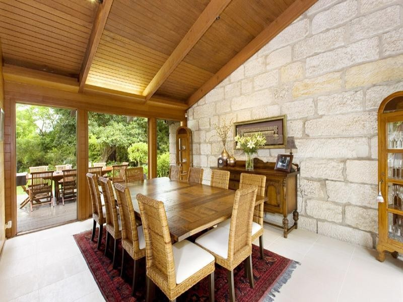 country style style dining room